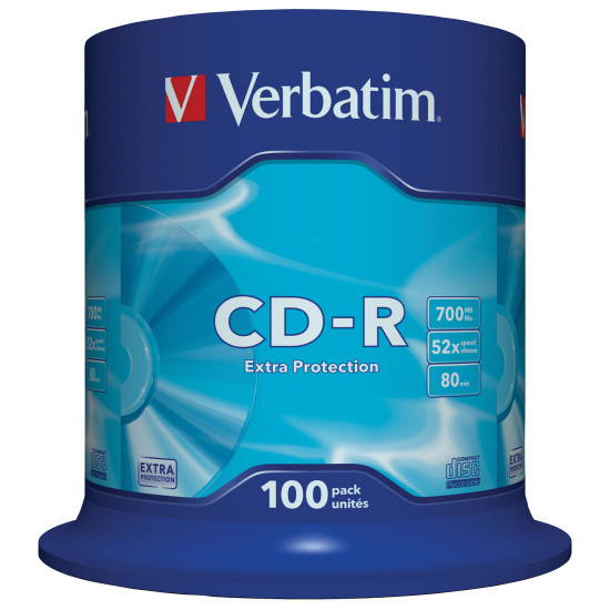 CD vierge Verbatim CD-R (boite de 100)