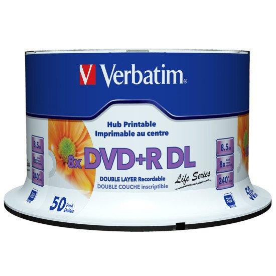 Verbatim DVD+R double couche imprimable (boite de 50)