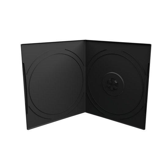 Boîtier 1 DVD slimcase demi-hauteur (pack de 50)