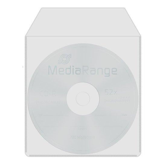 Pochette. plastique pour CD ou DVD 50p.