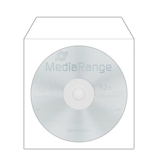 Pochette. papier pour CD ou DVD 50p.