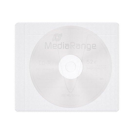 Pochette. auto-adhésive pour CD/DVD 25p.