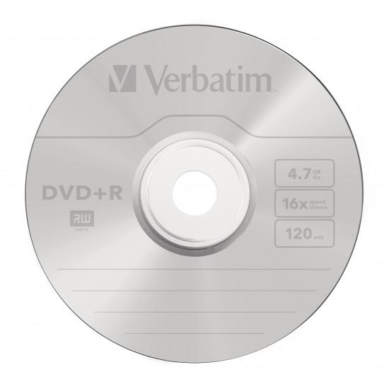 DVD vierge verbatim DVD-R 16x (boite de 50)