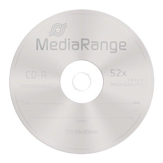 CD vierge mediarange 700MB 52x (boite de 100)