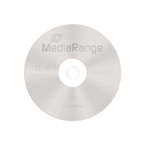 CD vierge mediarange 900Mo 25p.