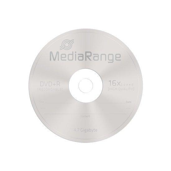 DVD vierge mediarange DVD+R. 16x (boite de 100)