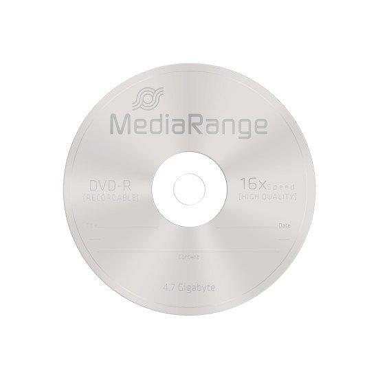 DVD vierge Mediarange DVD-R 16x 50p.