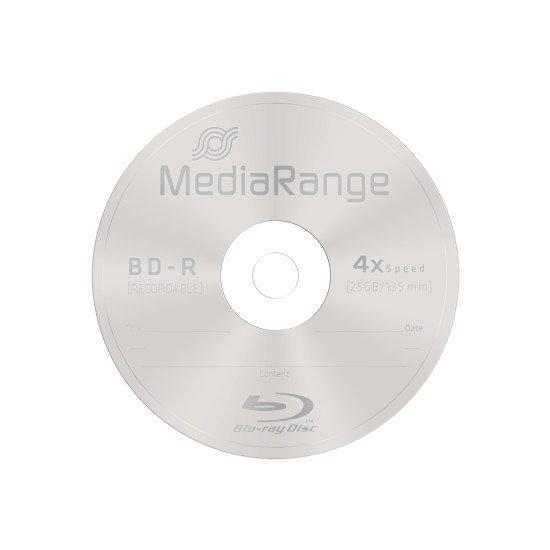 Mediarange Blu-ray vierge BD-R 4x 25p.
