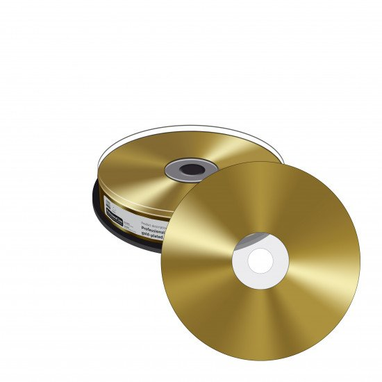 CD vierge Mediarange true gold 700Mo 52x 10p.
