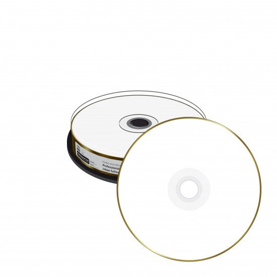 CD vierge Mediarange true gold 700Mo 52x imprimable  10p.