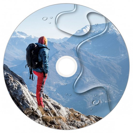 Verbatim DVD-R 16x imprimable Waterproof 50p.