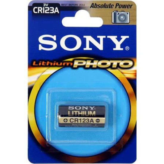 Sony pile lithium CR123A