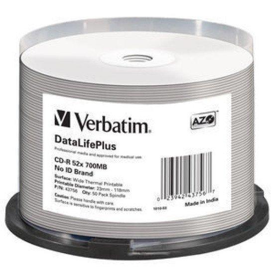 Verbatim CD-R pour impression transfert thermique (boite de 50)