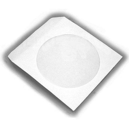 Mini-pochette papier pour CD/DVD 8cm 50p.