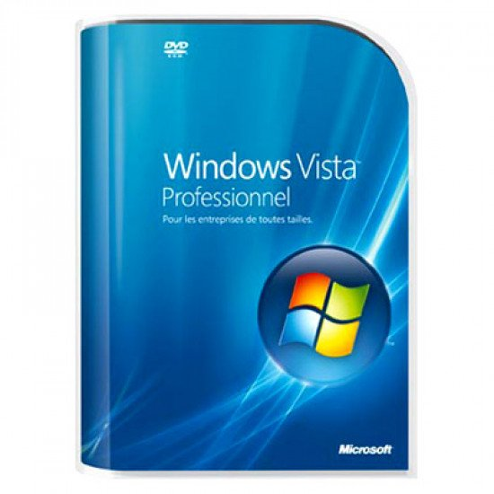 Microsoft windows vista professionnel DVD français