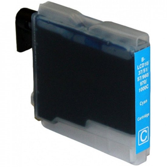 Cartouche compatible Brother LC1000C / LC970C (Cyan)