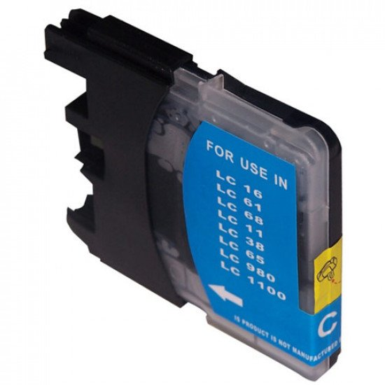 Cartouche compatible Brother LC1100C / LC980C (Cyan)
