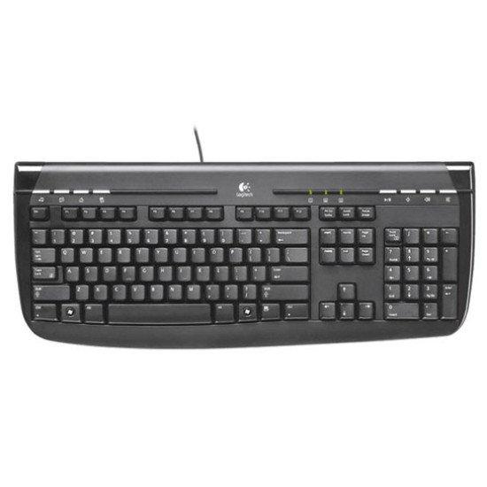 Logitech clavier Internet 350 USB noir