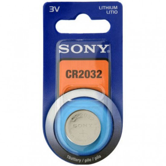 Sony pile bouton CR2032
