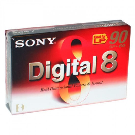 Sony cassette digital-8 60 minutes