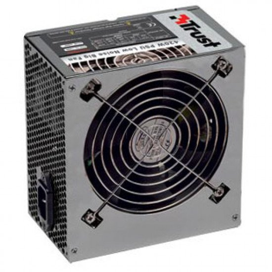 Trust alimentation 420W PSU Low Noise Big Fan PW-5250
