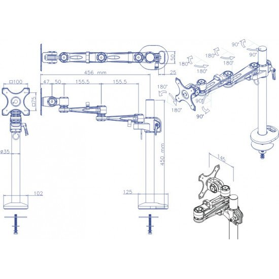 Newstar FPMA-D935G support bureau