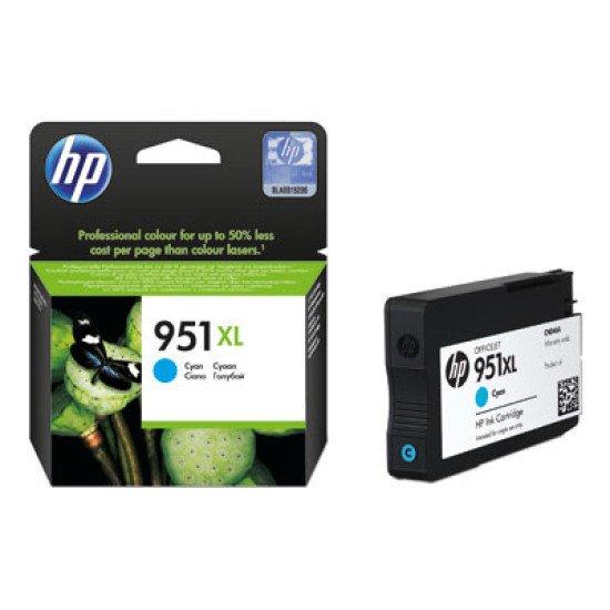 HP 951XL / CN046AE#BGX Cartouche encre / Cyan
