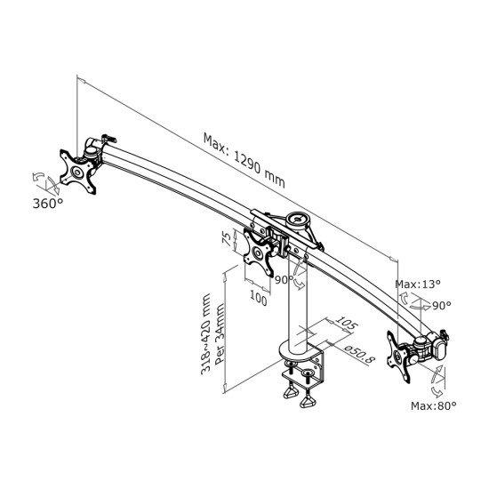 Newstar FPMA-D700D3 support bureau
