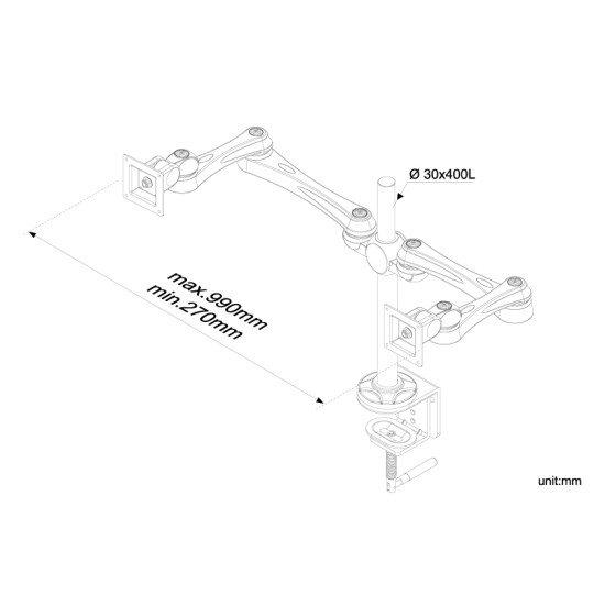 Newstar FPMA-D930D support bureau