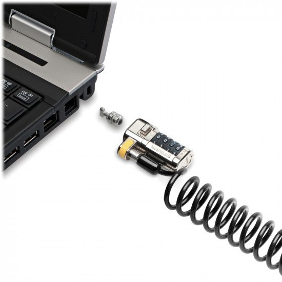 Kensington ClickSafe Portable Combination Laptop Lock