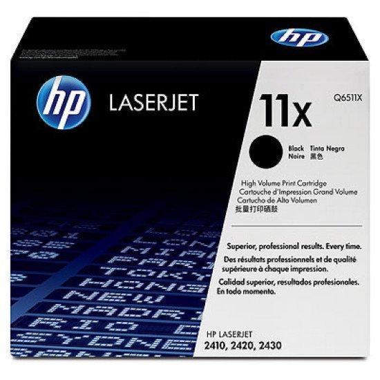 HP 11X / Q6511X Toner Noir