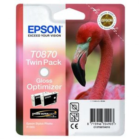 Epson T0870 Cartouche encre Gloss optimizer