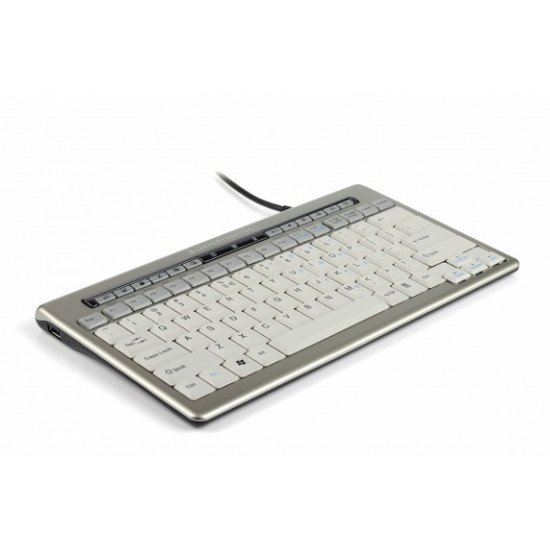 BakkerElkhuizen S-board 840 Clavier USB Gris QWERTY UK