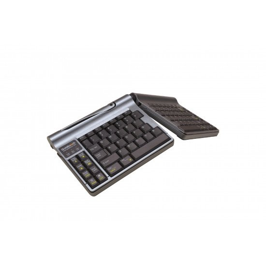 BakkerElkhuizen Goldtouch Travel Go Clavier USB Gris QWERTY UK
