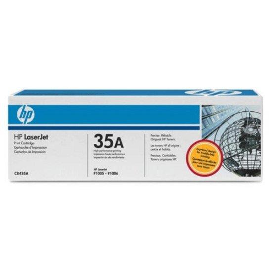 HP 35A / CB435A Toner Noir