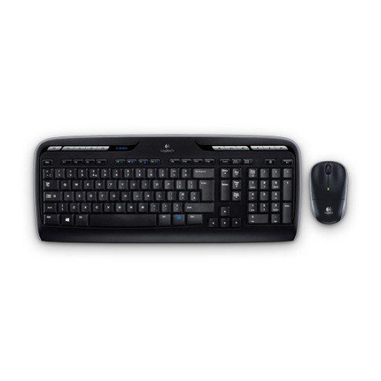Logitech LGT-MK330 ensemble clavier et souris QWERTY US Int