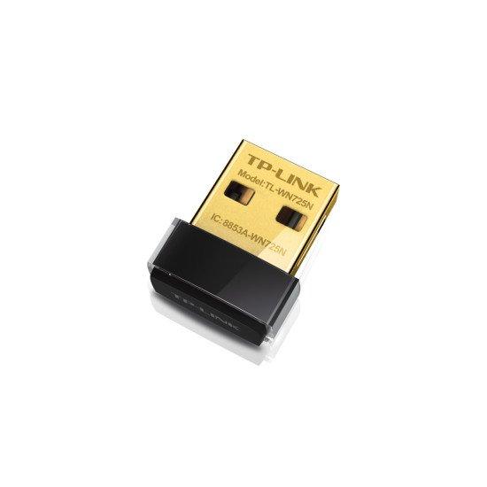 TP-LINK 150Mbps Wireless N Nano USB Adaptateur réseau Sans fil USB