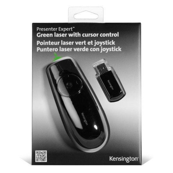 Kensington Presenter Expert avec laser vert et joystick