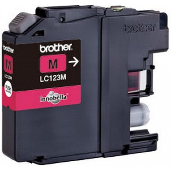 Brother LC-123M cartouche encre /  Magenta