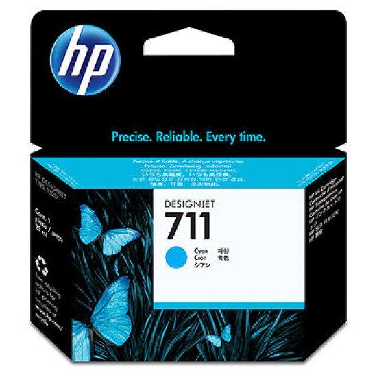 HP 711 / CZ130A Cartouche encre / Cyan