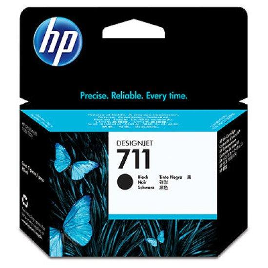 HP 711 80-ml Black Ink Cartridge / CZ133A Cartouche encre / Noir
