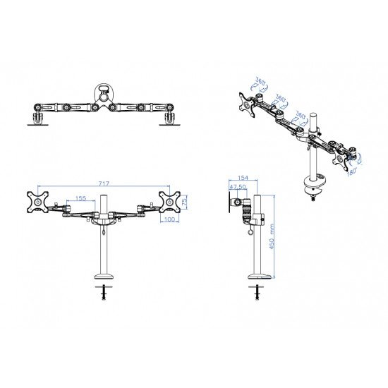 Newstar FPMA-D935DG support bureau