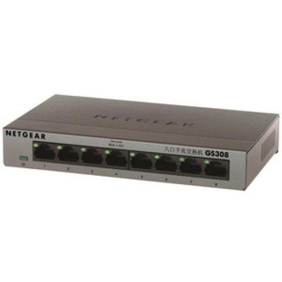 Netgear GS308 Switch Gigabit Ethernet