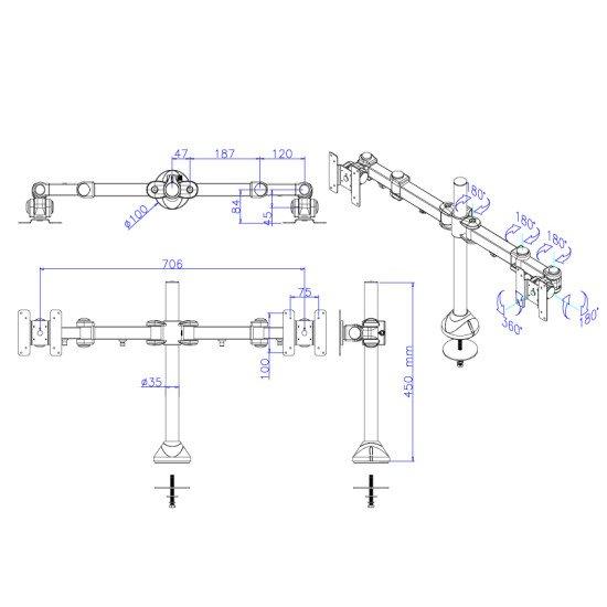 Newstar FPMA-D960DG support bureau