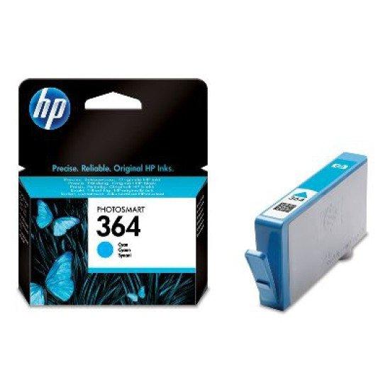 HP 364 / CB318EE#BA1 Cartouche encre / Cyan