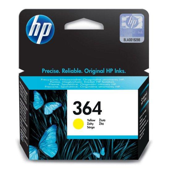 HP 364 Original Jaune 1 pièce(s)