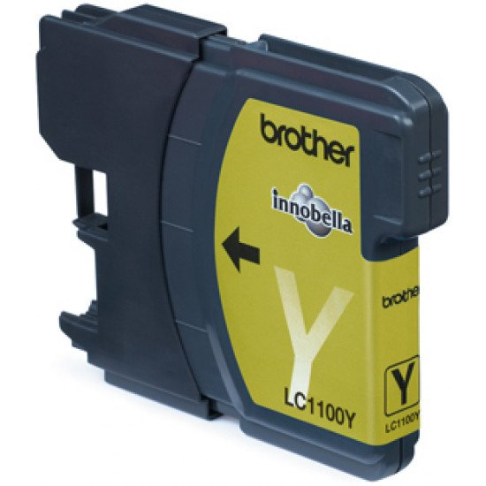 Brother LC-1100Y cartouche encre /  Jaune