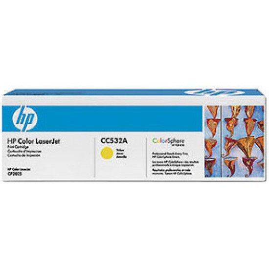 HP 304A / CC532A Toner Jaune