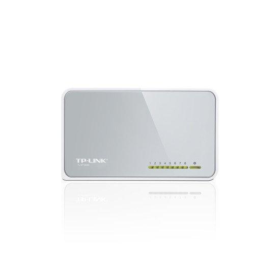TP-LINK 8-Port TL-SF1008D Switch Fast Ethernet