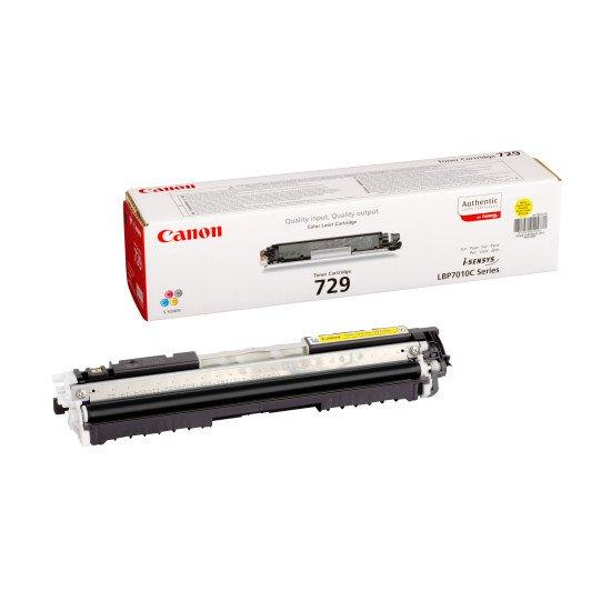 Canon  729 Y / 4367B002 Toner  Jaune